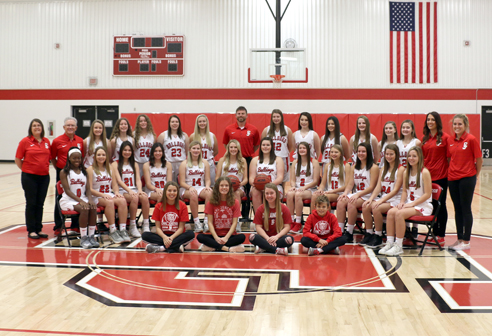 2018-19 Girls Basketball Team Photo